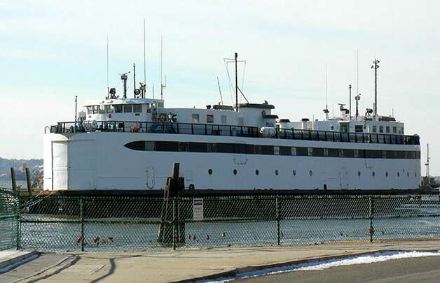 The M/V Islander is still in New York Harbor, drawing a threat of legal action from the new Columbia County owner. (Times Union archive)