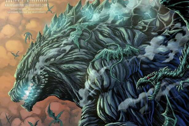 "San Antonio native and professional Godzilla artist Matt Frank is at it again with a new monstrously good depiction of the iconic movie monster. This art pays homage to the new anime film, ""Godzilla: Planet of the Monsters,"" which is now available on Netflix."