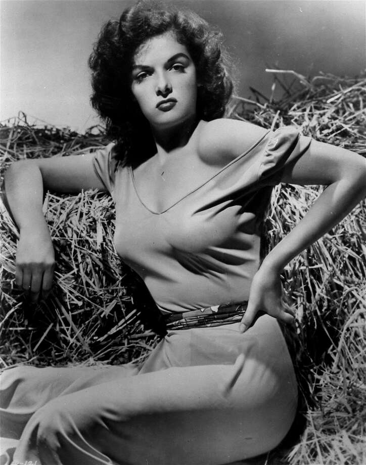 """**FILE**Jane Russell makes her screen debut in Howard Hughes's 1943 film """"The Outlaw,"""" in this undated file photo from RKO. (AP Photo) Photo: AP"""