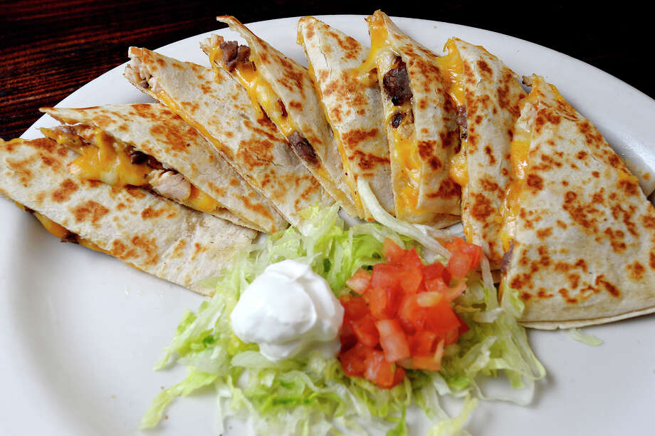 A steak quesadilla Fajitas at Senor Toro in Vidor.  Photo taken Thursday 1/11/18 Ryan Pelham/The Enterprise Photo: Ryan Pelham / ©2017 The Beaumont Enterprise/Ryan Pelham