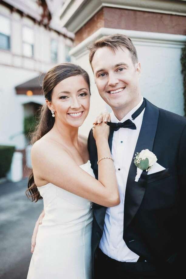 Jessica A. Koontz and Hunt E. Barada were married on September 30, 2017. Photo: / Brooke Allison Photography / Brooke Allison Photography http://www.brookeallisonphoto.com