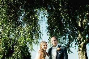 Stephanie Sheldon married Sean Haddad on Sept. 16.