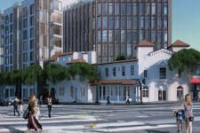Developers of a proposed eight-story, mixed-use building at the intersection of Market and Duboce streets are seeking approval today for plans to utilize the state's density bonus by including on-site affordable housing units.