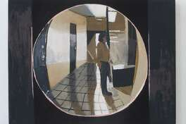 """Apartment 6F Through the Peephole,"" by Matt Bollinger, is part of a multimedia exhibit in Danbury."