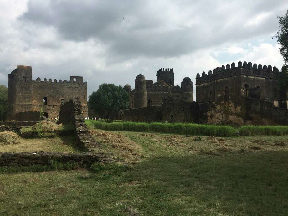 This Oct. 7, 2017 photo shows castle ruins in Gondar, Ethiopia. Royal castles and palaces attest to Gondar's role as capital of Ethiopia in the 17th and 18th centuries. (Marcus Eliason via AP) Photo: Marcus Eliason / Marcus Eliason