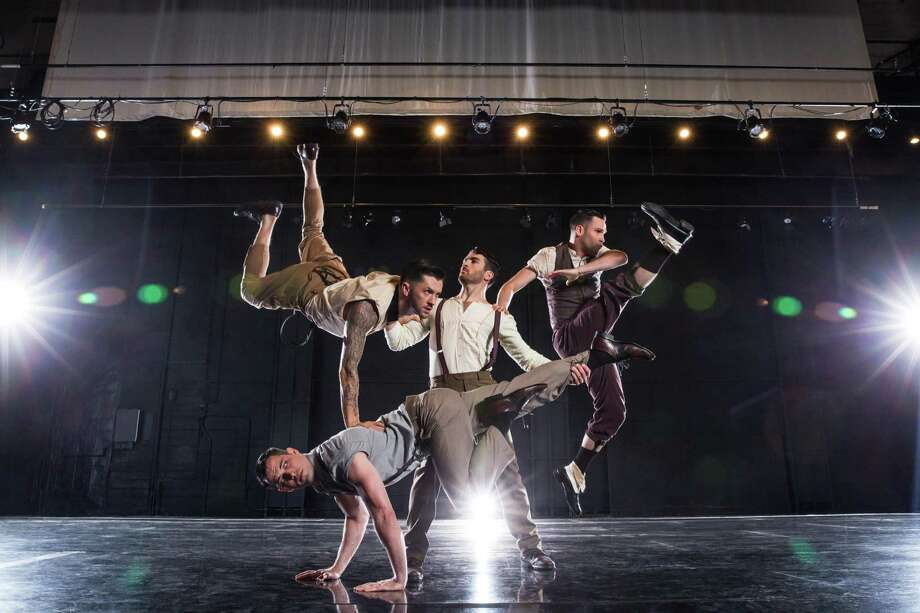 "Travis Wall, of FOX's ""So You Think You Can Dance,"" and colleagues are coming to the Shubert Theatre in New Haven Jan. 27. Photo: Shubert Theatre / Contributed Photo"
