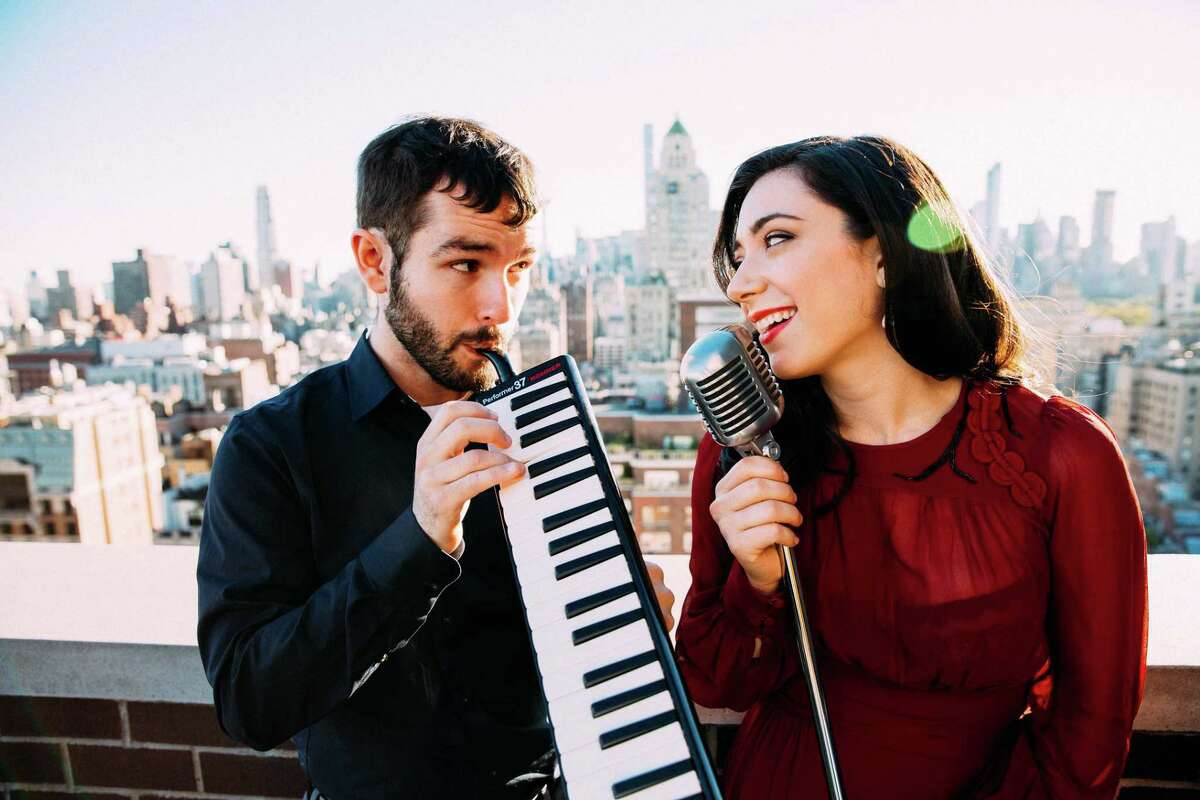 Julie Benko, with Jason Yeager, who co-produced her new album, will celebrate its release in a concert at Fairfield Theatre Company's StageOne on Jan. 27.