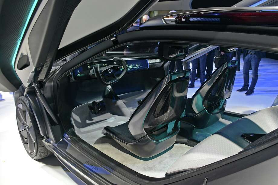 Inside the GAC Enverge Photo: Detroit Auto Show/Facebook