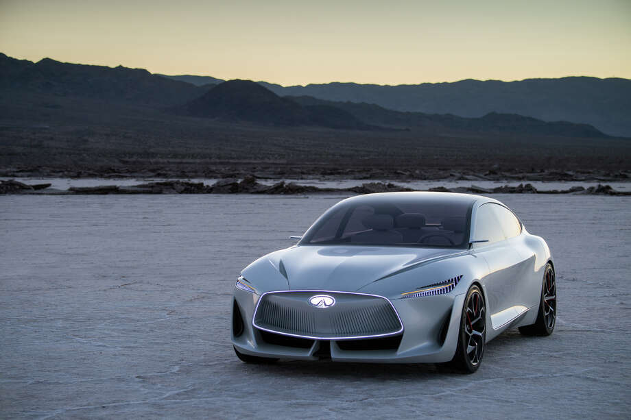 Infiniti Q Inspiration Concept: infinity headlights Photo: Infiniti