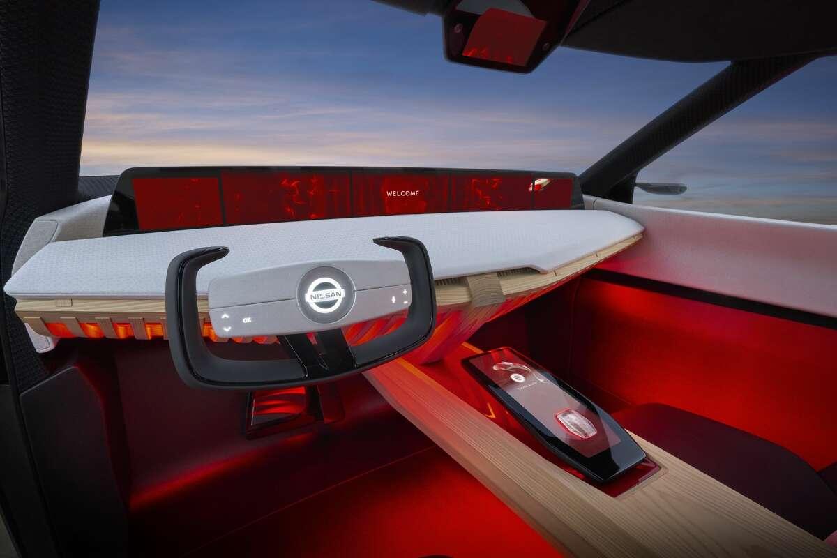Nissan Xmotion Concept: Koi fish navigation