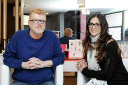 Franchise owners of the recently opened Blo Dry Bar, husband and wife, Bruce and Marianne Hammer, in their store located at 6 Greenwich Ave., Greenwich, Conn., Thursday, Jan. 18, 2018.