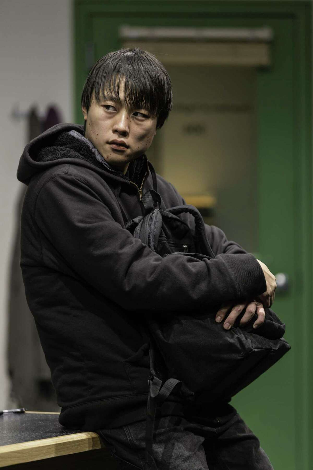 Daniel Chung as the mysterious student.