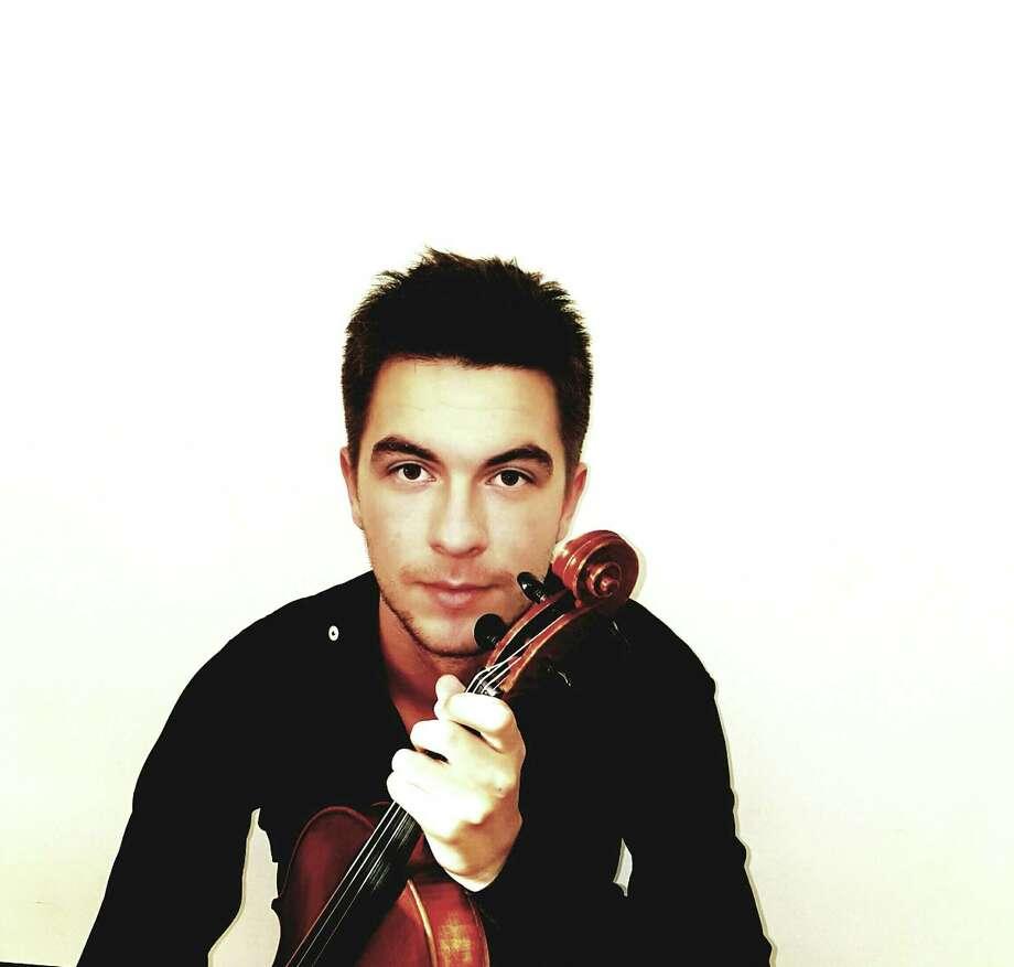 Josip Kvetek, who will play the viola for a Paganini showcase piece. Photo: Courtesy Of Josip Kvetek