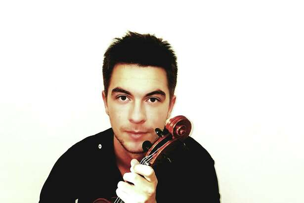 Josip Kvetek, who will play the viola for a Paganini showcase piece.