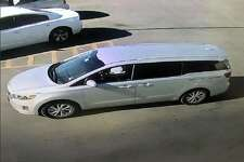 Midland Crime Stoppers and the Midland Police Department need help in identifying two suspects involved in a felony theft.  The men were last seen driving a silver Kia Sedona minivan.