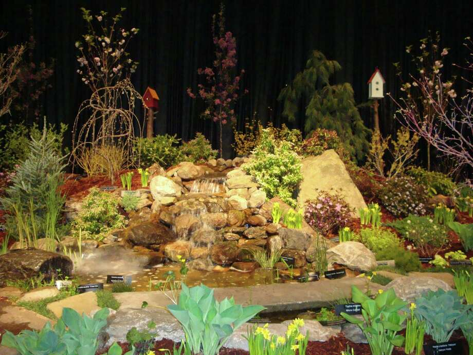 The 37th annual Connecticut Flower & Garden Show returns to the Connecticut Convention Center in Hartford, Feb. 22-25. Above, an exhibit from the 2017 show. Photo: Contributed Photo