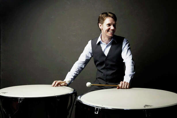 "Mike Tetreault is the featured timpanist in Midland Odessa Symphony and Chorale's ""Fanfare"" concert on Feb. 3"