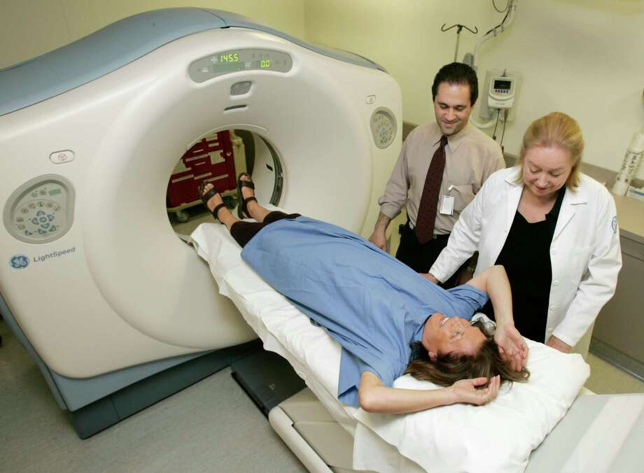 Early detection of lung cancer through a CT scan reduces the risk of death by 20 percent. Photo: RICHARD DREW, STF / AP
