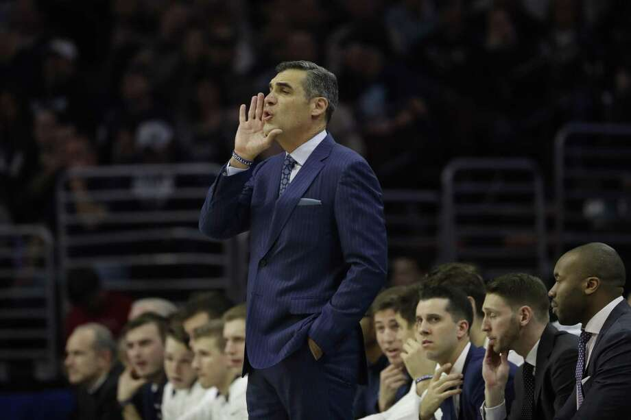 Jay Wright and top-ranked Villanova travel to Hartford to face UConn on Saturday. Photo: Matt Slocum / Associated Press / Copyright 2018 The Associated Press. All rights reserved.