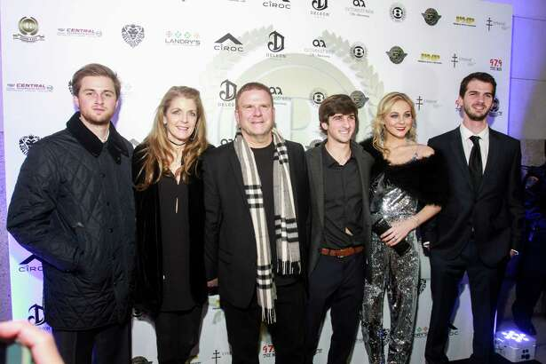 Patrick Fertitta, from left, Paige and Tilman Fertitta, Blake Fertitta, Dana Wenpe and Michael Fertitta
