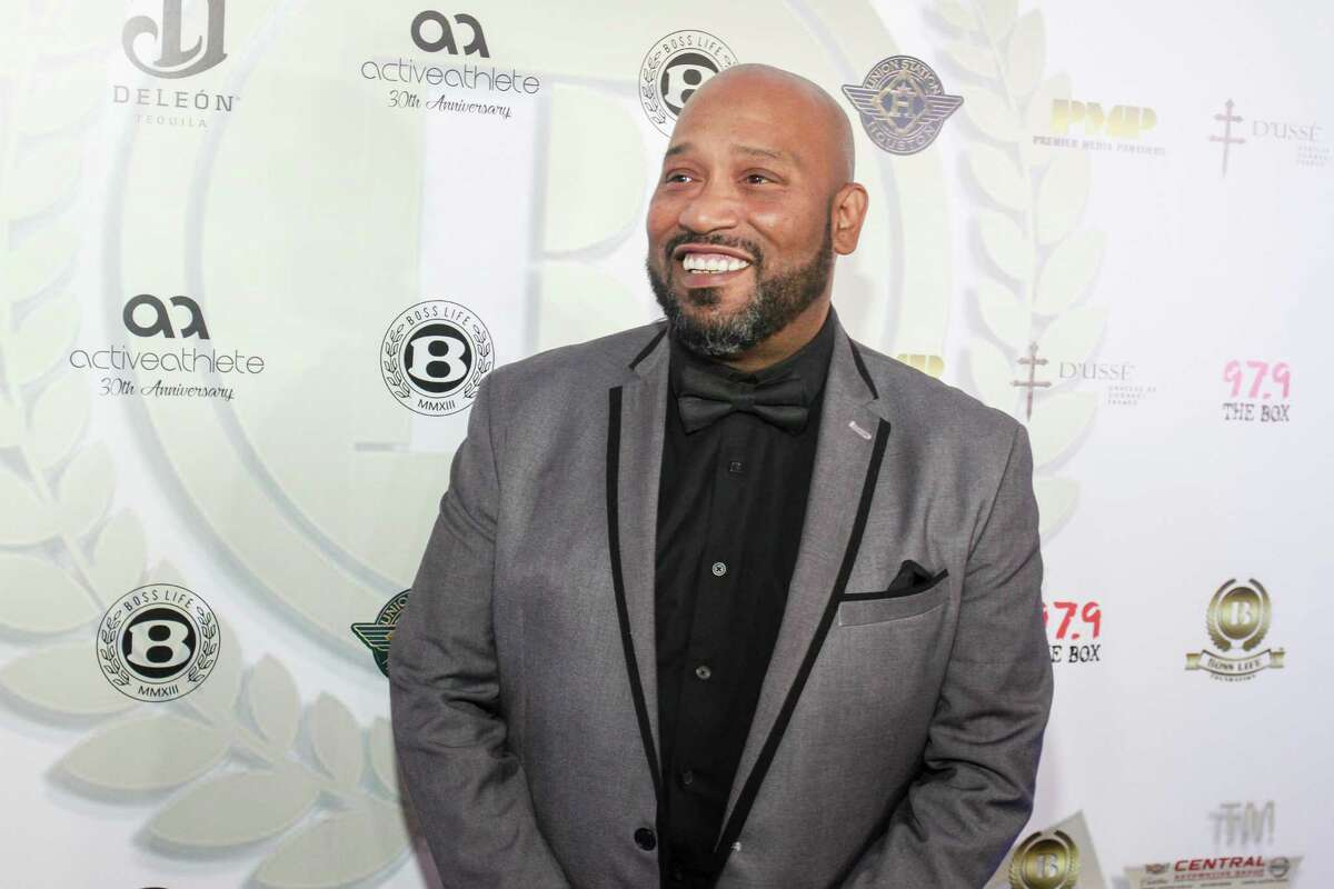 Bun B at the BossLife Foundation's 5th annual BossLife Ball at Union Station. The BossLife Ball raises funds for the BossLife Scholarship Program which assists high school graduates with continuing higher education. (For the Chronicle/Gary Fountain, January 14, 2018)