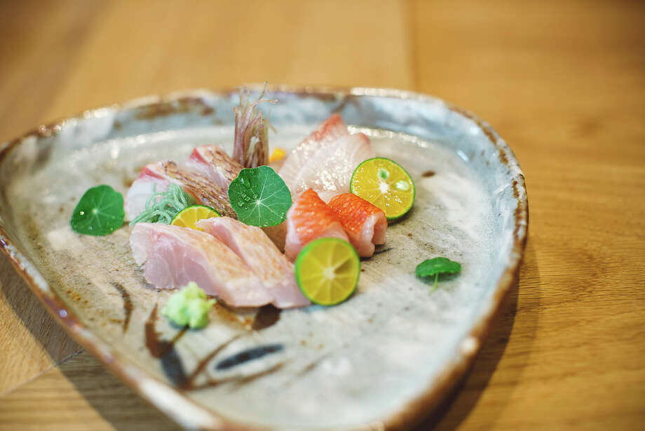 The crudo at Kadence is as beautiful as it is delicious. Photo: Kadence / Bloomberg