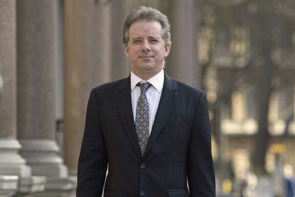 Trump dossier. Christopher Steele, the former MI6 agent who set-up Orbis Business Intelligence and compiled a dossier on Donald Trump, in London where he has spoken to the media for the first time.