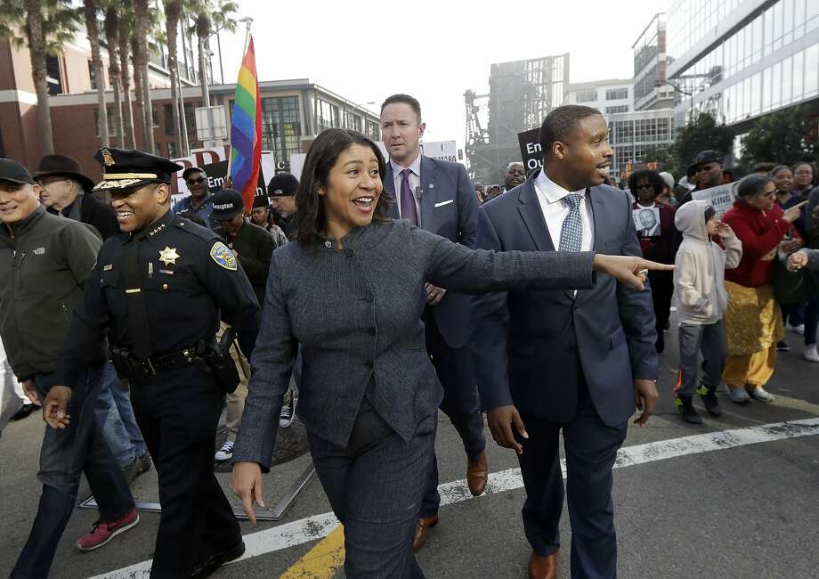 "London Breed can identify herself as ""acting mayor"" on the June 5 ballot, the city's Department of Elections has ruled, rejecting a challenge from a voter. Photo: Jeff Chiu, Associated Press"