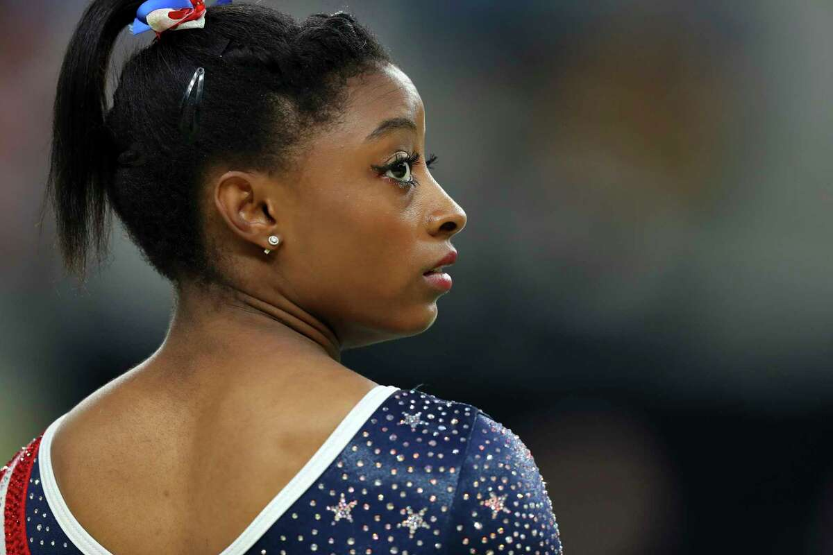 """Aly Raisman, left, said Friday that """"we need to demand real change, and we need to be willing to fight for it"""" as gymnasts like Simone Biles begin preparing and competing in events that will lead to the 2020 Olympics in Tokyo."""