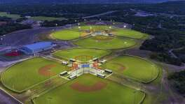 Besides 11 baseball/softball fields, the new Kerrville Sports Complex includes 20 acres of soccer fields and a privately operated baseball training facility. It opens to the public Saturday.