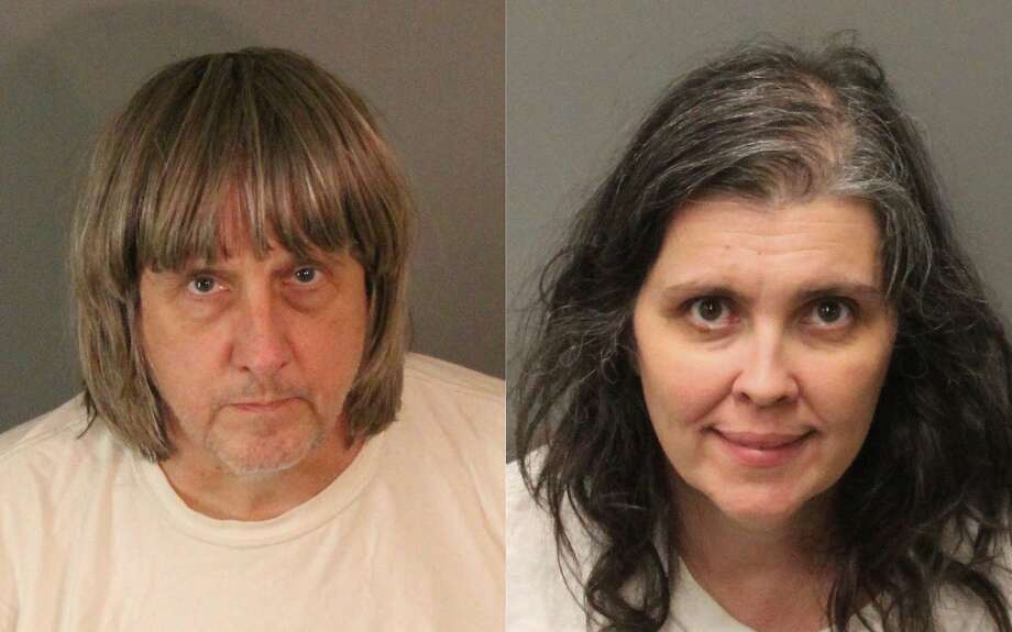FILE - These undated photos provided by the Riverside County Sheriff's Department show David Allen Turpin, left, and Louise Anna Turpin. Photo: Uncredited, Associated Press
