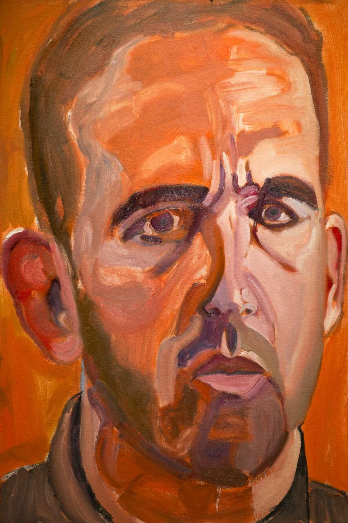 Artwork by former President George W. Bush. 01/19/18 Tim Fischer/Reporter-Telegram