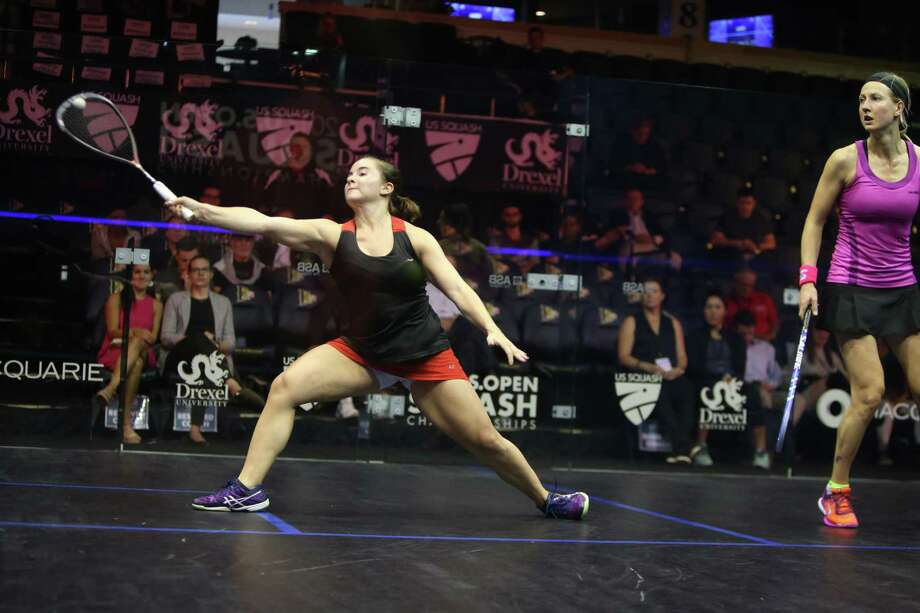 Olivia Blatchford of Wilton, currently the No. 13 female squash play in the world, will be competing in the JP Morgan Tournament of Champions from Jan. 20-25 at Grand Central Station in New York City. Photo: Contributed Photo / Contributed Photo / Darien News contributed