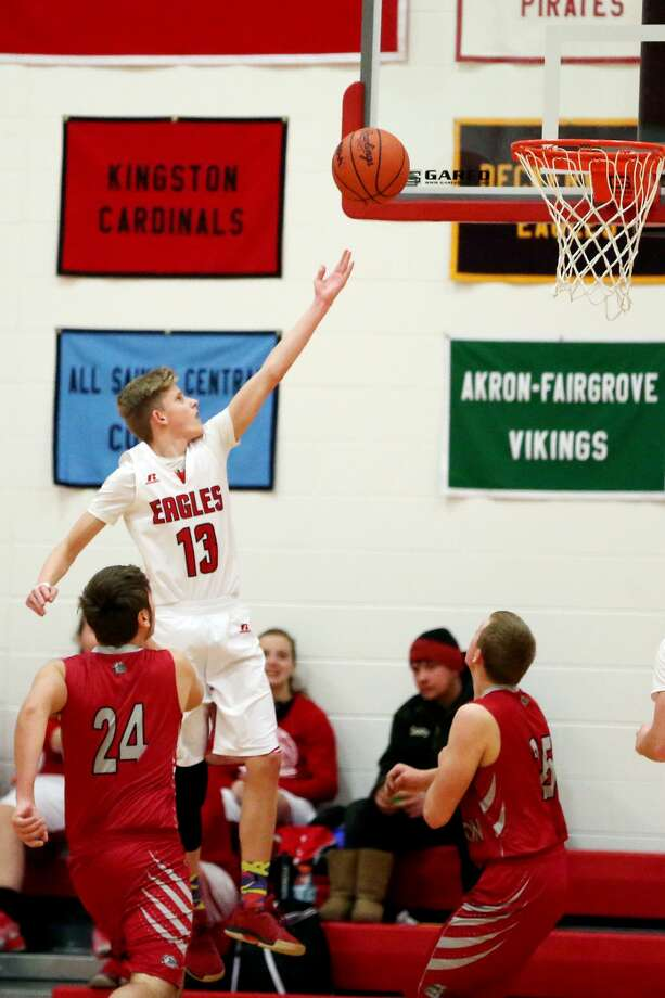 Owen-Gage at Caseville — Boys/Girls Basketball 2018 Photo: Paul P. Adams/Huron Daily Tribune