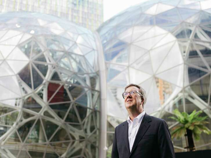 """Jim Watson, mayor of Ottawa, Canada, toured Amazon's headquarters in Seattle last fall. Watson called the competition for Amazon's second headquarters """"great publicity"""" for the company."""