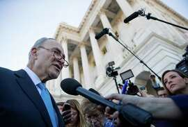 Senate Minority Leader Chuck Schumer, D-N.Y., discusses the failed negotiations.