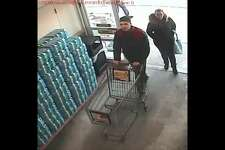 Bethel police are asking the public to help them identify the two suspects in an investigation into a theft that occurred at the Big Y at 83 Stony Hill Road on Jan. 10, 2018.