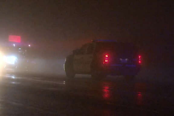 A man authorities say beat and threatened a woman he trafficked from Wisconsin died early Saturday morning after a confrontation with a good Samaritan offering to help the woman escape her captor. Houston police said at about 2:30 a.m. they responded to a report of deceased male in road of the 14500 block of Hempstead Road near Jersey Village. The man identified as a pimp died after he tried to restrain the woman, who was jumping into a moving vehicle. The pimp fell and smacked his head on the ground.According to police officers, the pimp rose to his feet, stumbled a bit and then fell and died on the side of the road. The female was in stable condition, but authorities transported her to the hospital for further evaluation and her minor injuries from being assaulted.
