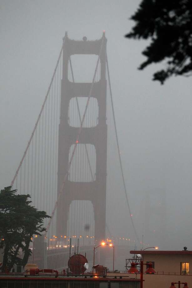 Rain is expected in the Bay Area beginning Sunday afternoon and continuing overnight. Photo: Lea Suzuki, The Chronicle