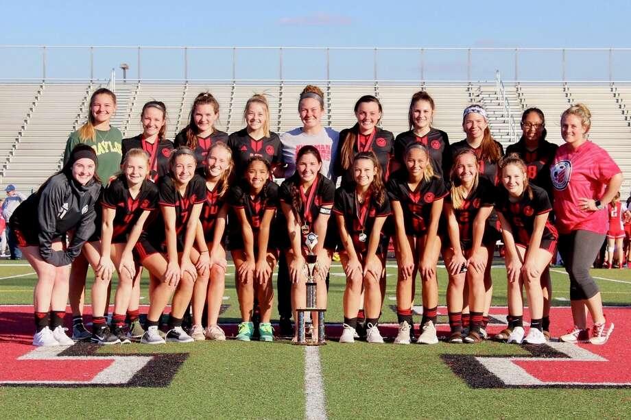 The 2017-2018 Hargrave girls soccer team Photo: Adam Bell, Hargrave Girls Soccer