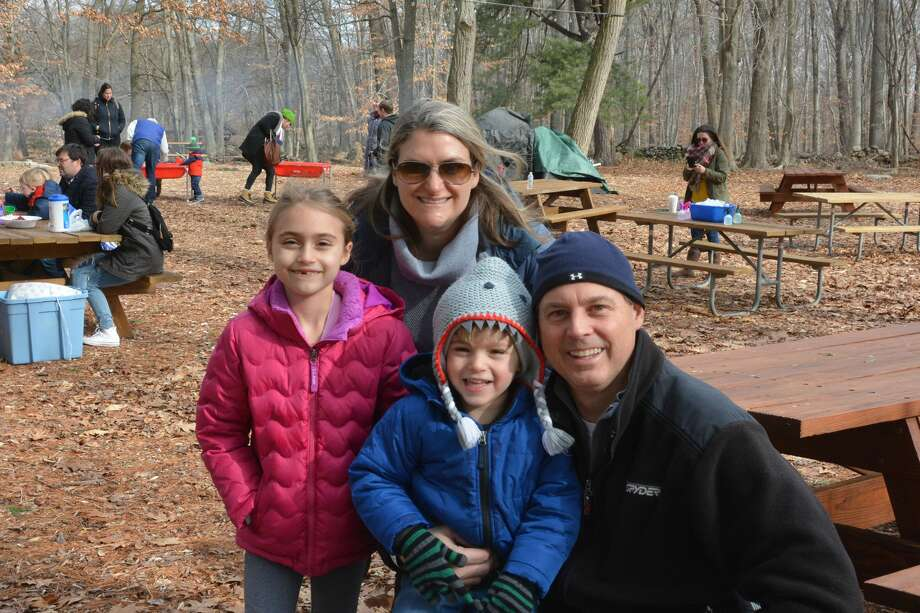 Earthplace in Westport held its annual Winterfest on January 20, 2018. Families enjoyed crafts, a fire and winter activities like snowshoeing and miniature ice sculptures. Were you SEEN? Photo: Vic Eng / Hearst Connecticut Media Group