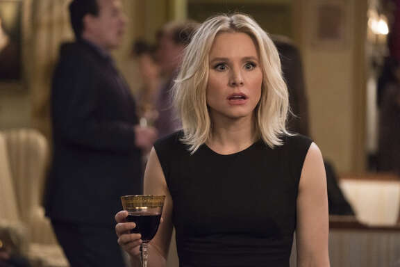 "Kristen Bell's ""The Good Place"" character recently discovered she's in ""the Bad Place."""