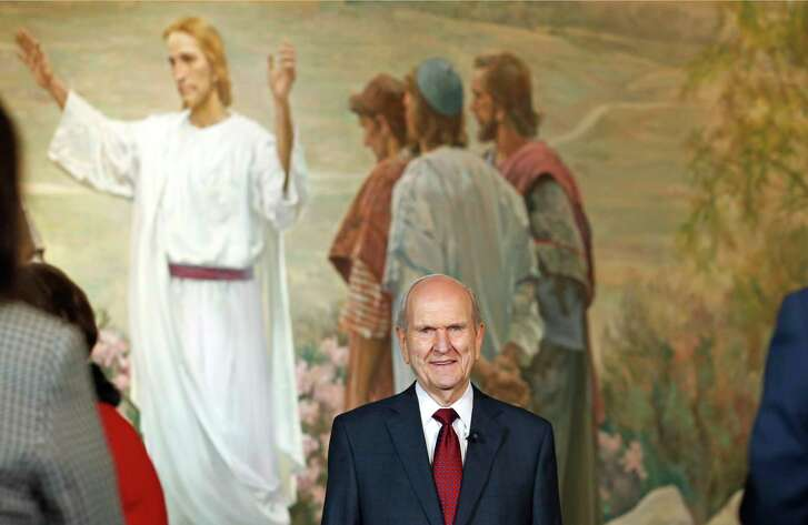 """New Mormon President Russell Nelson said the """"Lord is in charge of picking top church leaders"""" and acknowledged that its highest leadership councils are not a """"representative assembly."""""""