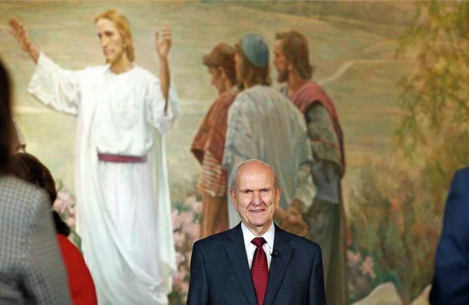 "New Mormon President Russell Nelson said the ""Lord is in charge of picking top church leaders"" and acknowledged that its highest leadership councils are not a ""representative assembly."" Photo: Rick Bowmer, STF / Copyright 2018 The Associated Press. All rights reserved."