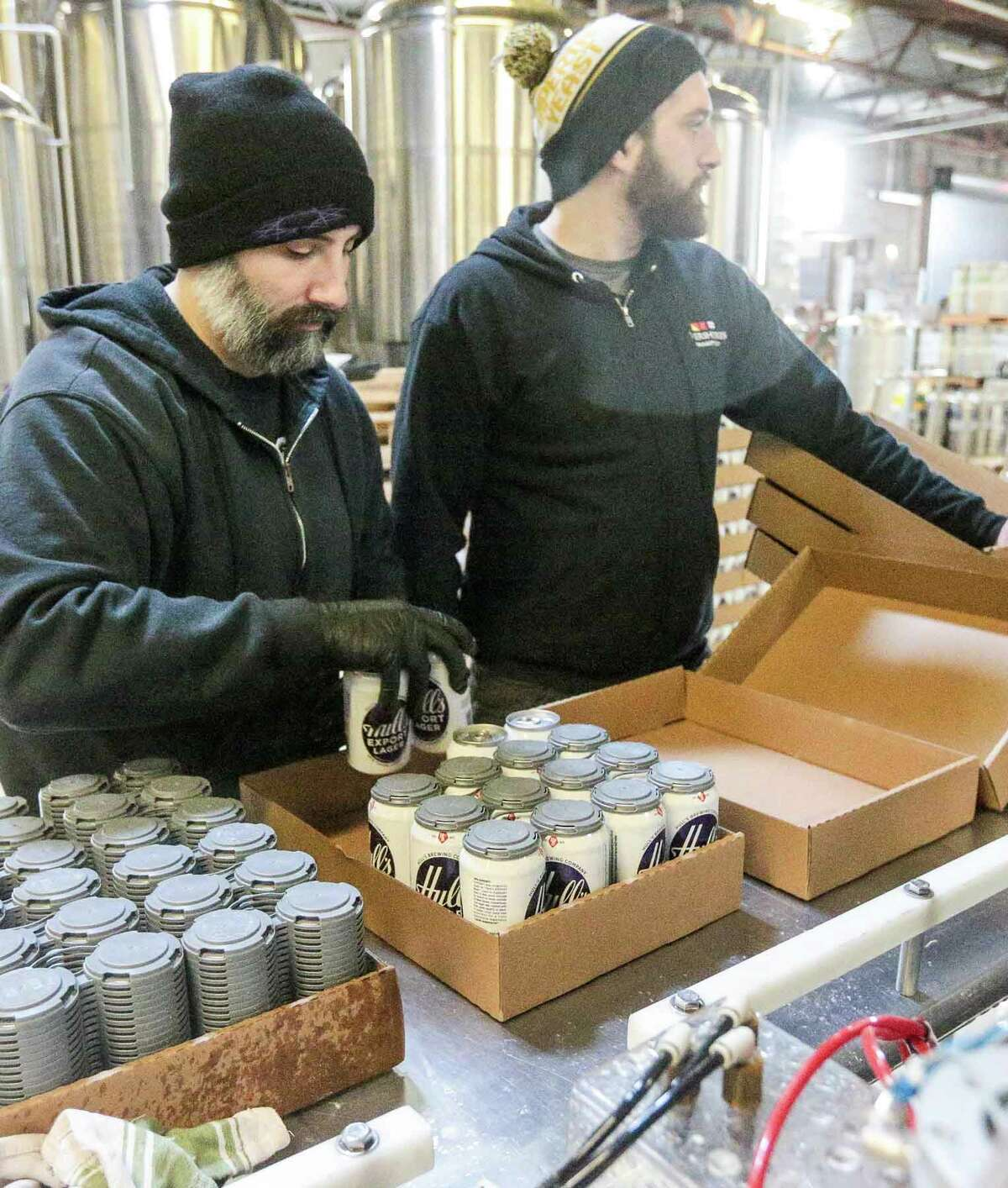 Old time favorite Hull's Export Lager Beer is once again being brewed locally after businessman Chuck DelVecchio bought the recipe. It is being distributed starting this week. He has a contract with Overshores Brewery to produce it.