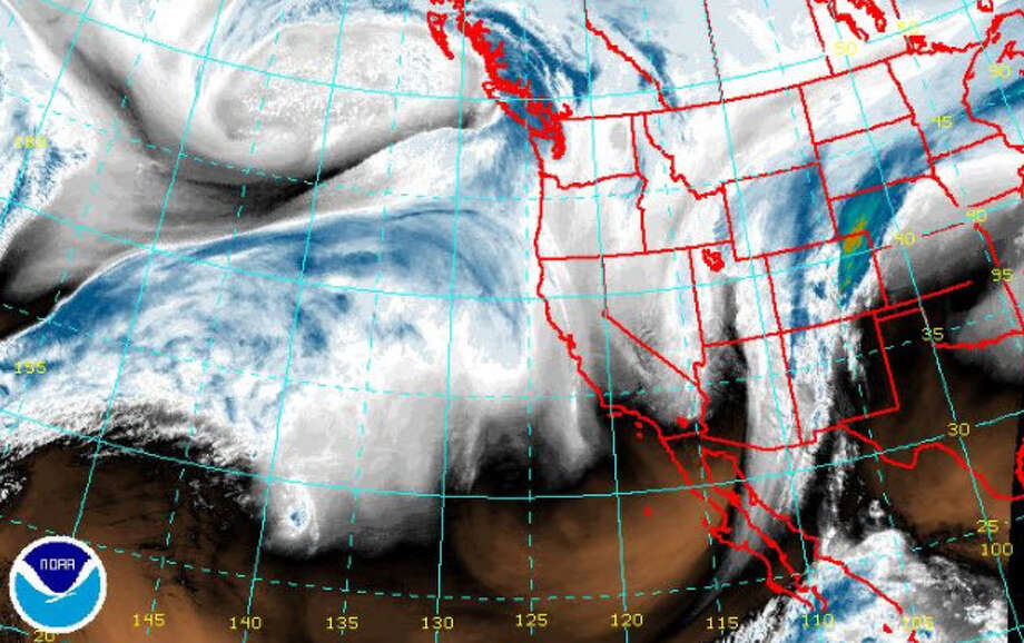 A winter storm was forecast to arrive Saturday, Jan. 20, 2018, in Western Washington. Photo: Weather Service