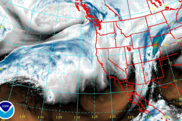A winter storm was forecast to arrive Saturday, Jan. 20, 2018, in Western Washington.