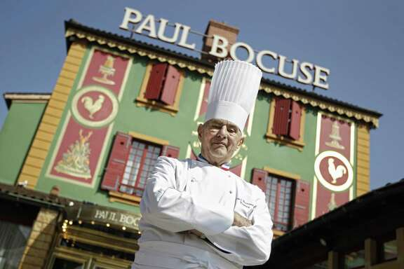 French chef Paul Bocuse was a serious cook by the age of 8. His most famous dish was a puff pastry-topped soup with truffles and foie gras.