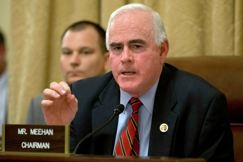 FILE - In this March 20, 2013 file photo, Rep. Patrick Meehan, R-Pa. speaks on Capitol Hill in Washington.  House Speaker Paul Ryan ordered an Ethics Committee investigation Saturday, Jan. 20, 2018, after the New York Times reported that Meehan used taxpayer money to settle a complaint that stemmed from his hostility toward a former aide who rejected his romantic overtures. (AP Photo/Jacquelyn Martin, File) Photo: Jacquelyn Martin, STF / Copyright 2017 The Associated Press. All rights reserved.