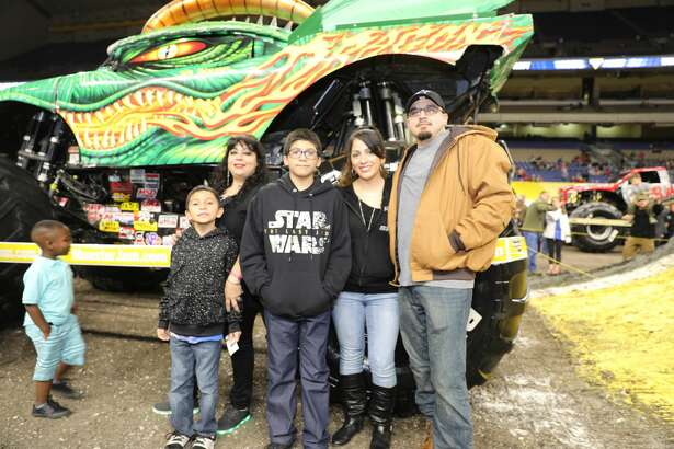 Monster trucks are taking over the Alamodome this weekend as Monster Jam fills S.A. craving for supercharged action.